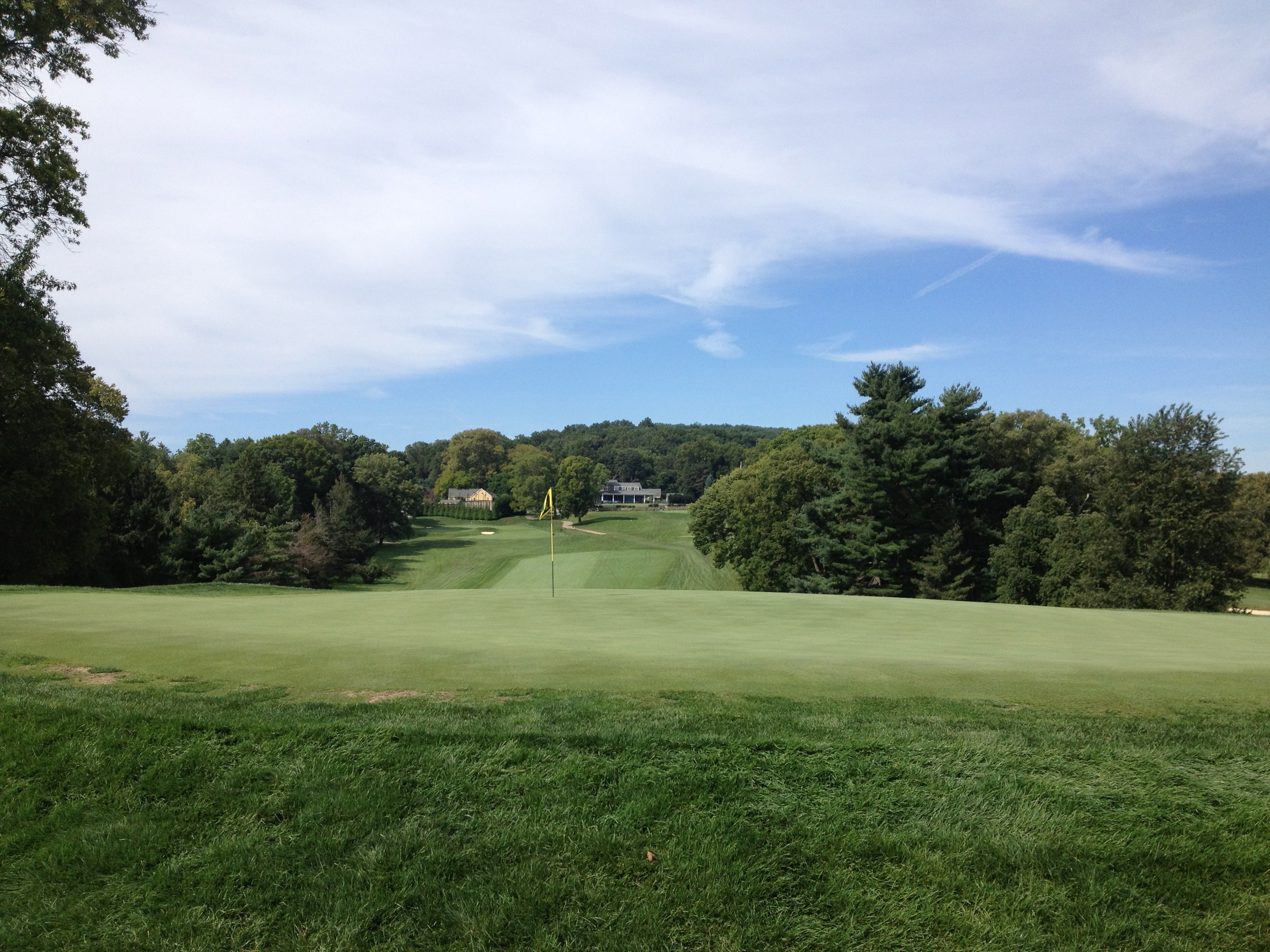 First Hole at Gulph Mills Golf Club