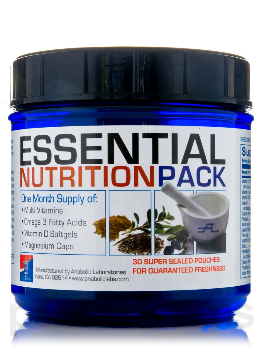 Why You Should Be Taking a Daily Essential Nutrient Pack