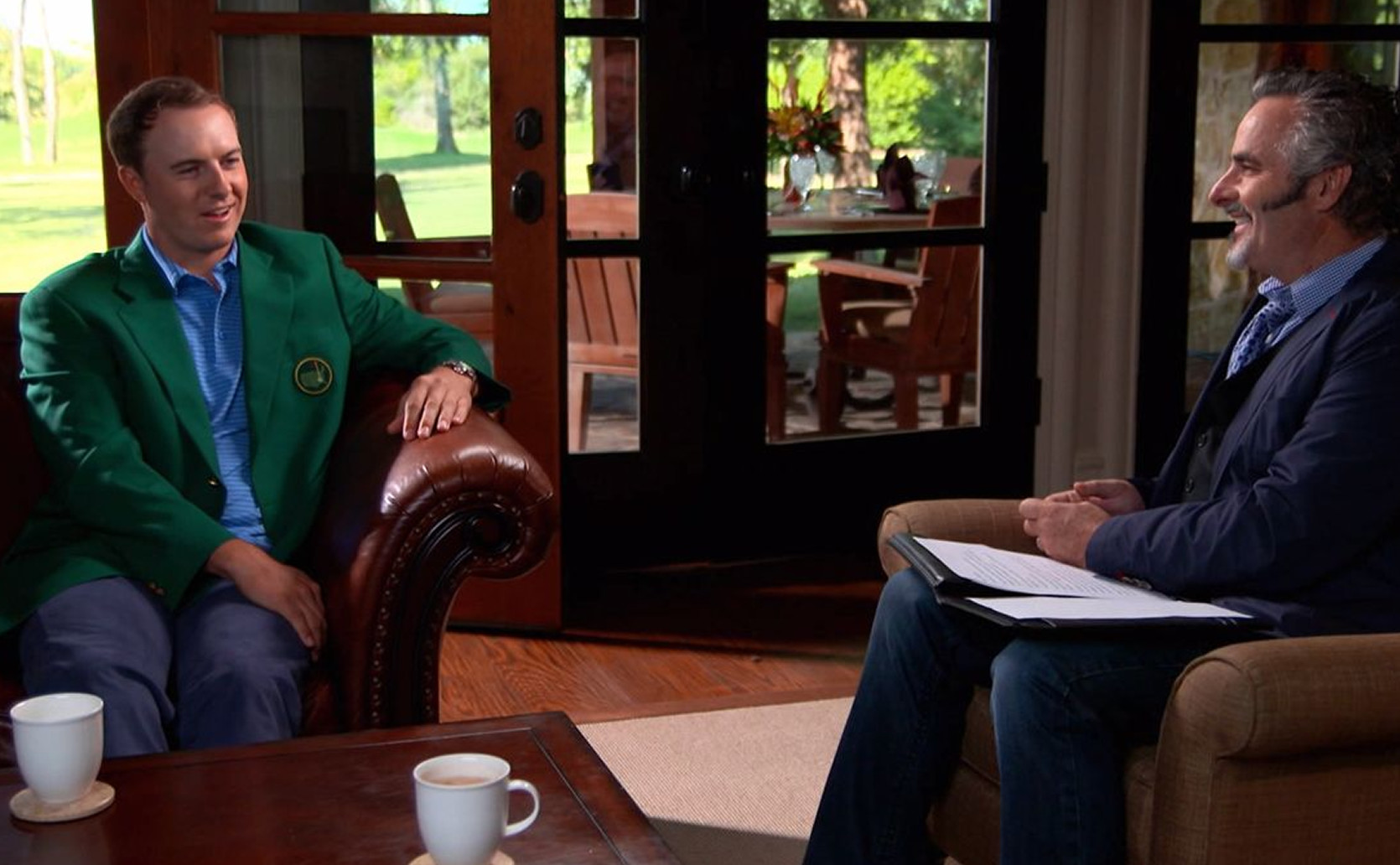 Spieth on Feherty